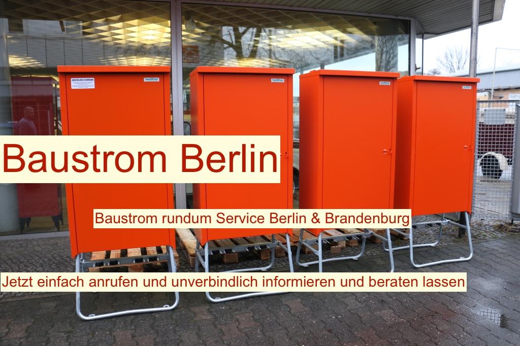 Baustellenstromverteiler Berlin
