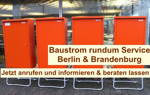 Baustromverteiler mit Zähler Berlin & Brandenburg
