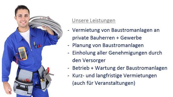Baustromverteiler mieten Berlin - rundum Service