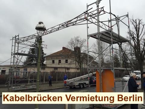 Baustrom Straßenquerung Berlin