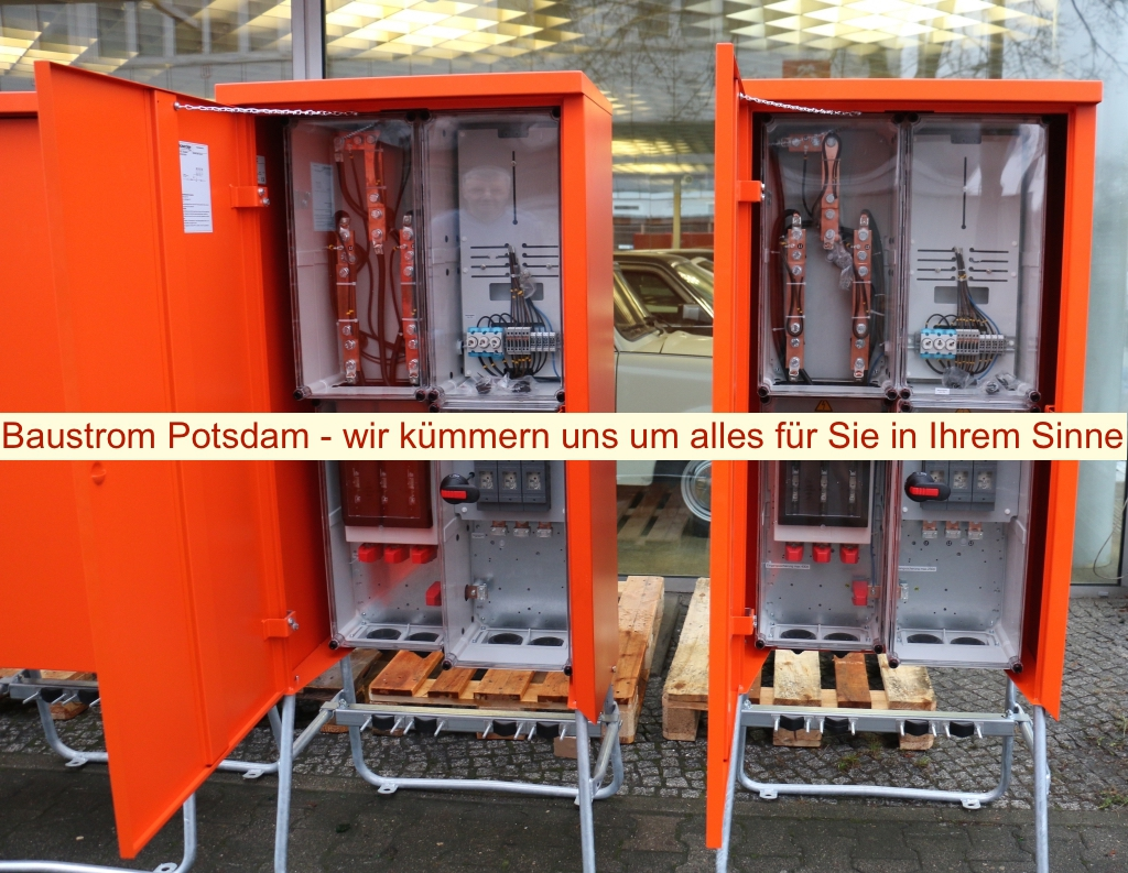 Baustrom Potsdam