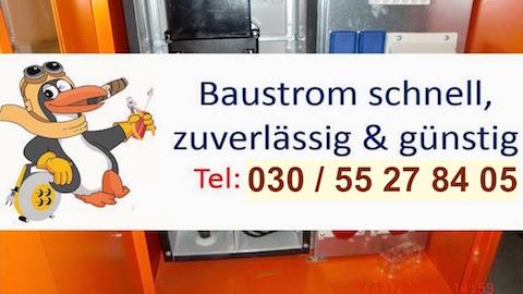 Baustrom Potsdam - Baustromverteiler leihen - Baustromkasten