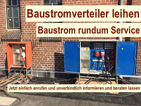 Baustrom Potsdam - mieten - Brandenburg Baustromverteiler