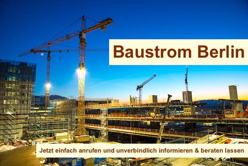 Baukran Baustrom Bedarf Berlin