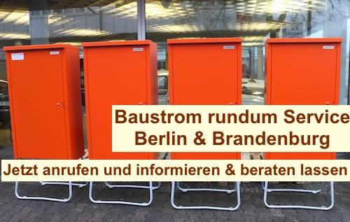 Baustrom Berlin Schöneberg mieten