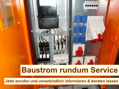 Baustrom Berlin Wedding mieten